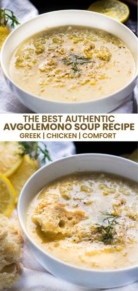 Best Avgolemono Soup