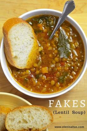 Fakes Lentil Soup
