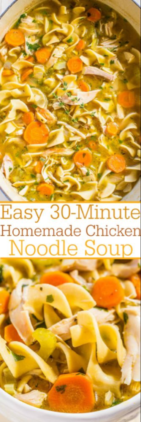 Chicken Noodle Soup Tall